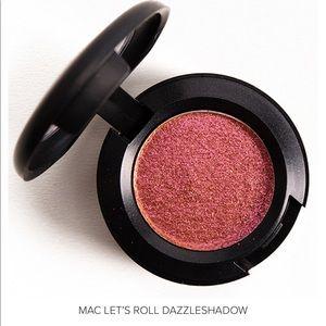 NWT MAC Cosmetics Let's Roll Dazzleshadow Eye Shad